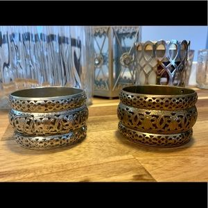 Jewelry - ✨Gold & Silver Bangles